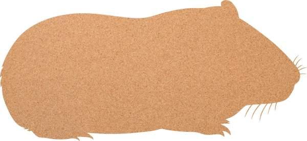 Kork-Pinnwand Meerschwein