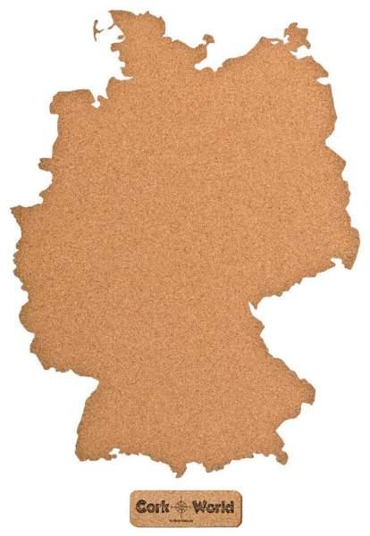 deutschland pinnwand aus kork umrisse deutschland jetzt entdecken kork. Black Bedroom Furniture Sets. Home Design Ideas