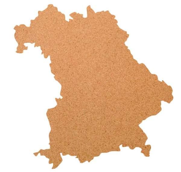 Kork-Pinnwand Bayern