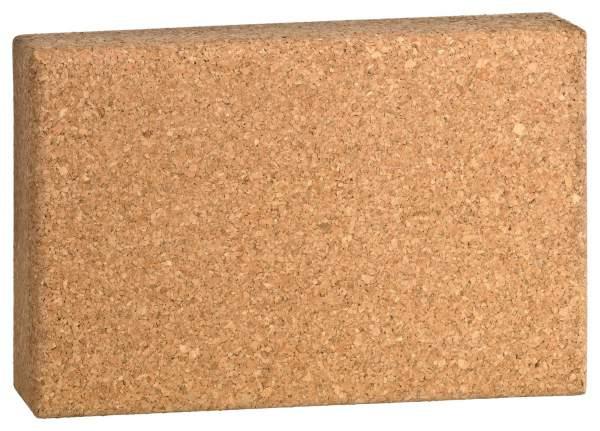 Extra dünner (schmaler / flacher) Korkblock für Yoga-Übungen (5 cm dick)