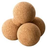 Faszienball aus Kork - Doppelball zur Massage