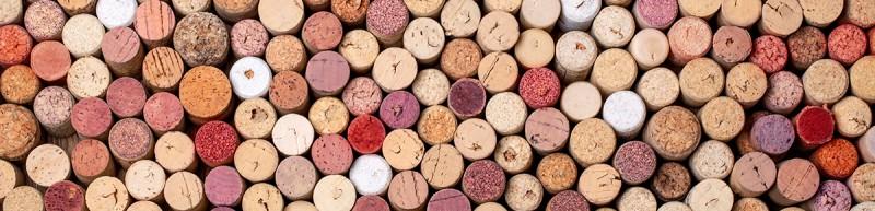 Gebrauchte Weinkorken