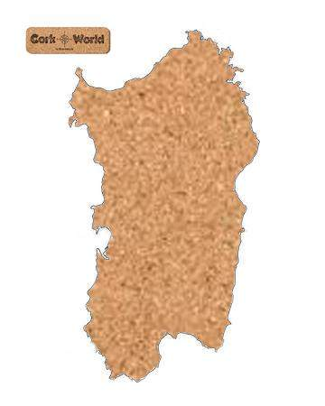 Sardinien Pinnwand Kork