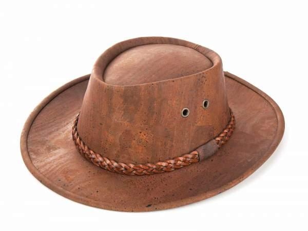 Hut aus Korkstoff
