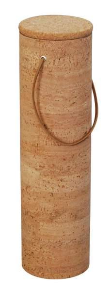 Edle Weinverpackung zum Verscheinken von einer Weinflasche aus Kork, rund kaufen