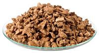kork-granulat grob