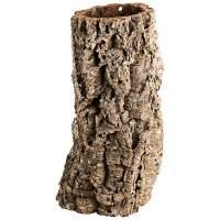 Breite Korkröhre Korktunnel Korkhöhle für Nagetiere, Vögel und Terrarien