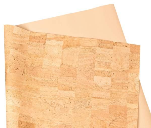Kork Stoff / Stoff aus Naturkork (natürliche Farbe) kaufen