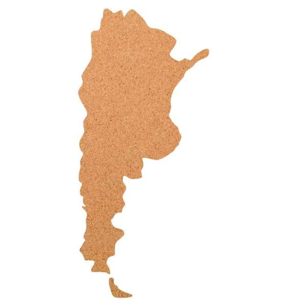 Kork-Pinnwand Argentinien
