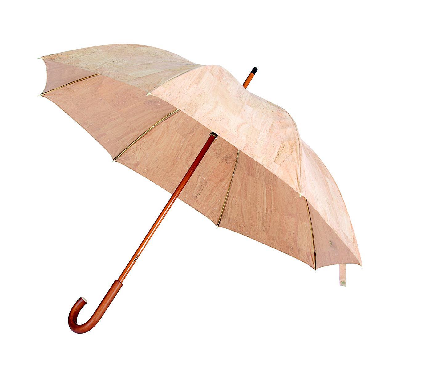 Schirm aus Korkhaut / Korkleder / Korkstoff kaufen