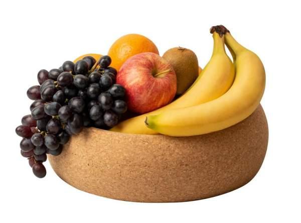 Korkschale für Obst, Früchte, Brot oder Snacks aus Naturkork online kaufen