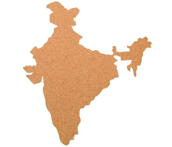 Kork-Pinnwand Indien