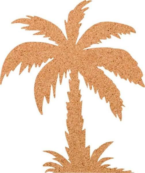 Kork-Pinnwand Palme