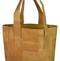 Einkaufstasche aus natürlichem Kork