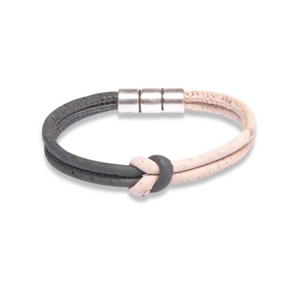 Kork-Armband schwarz weiss kaufen