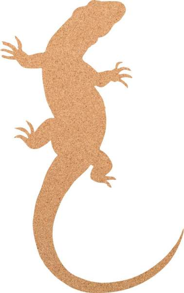 Kork-Pinnwand Reptil