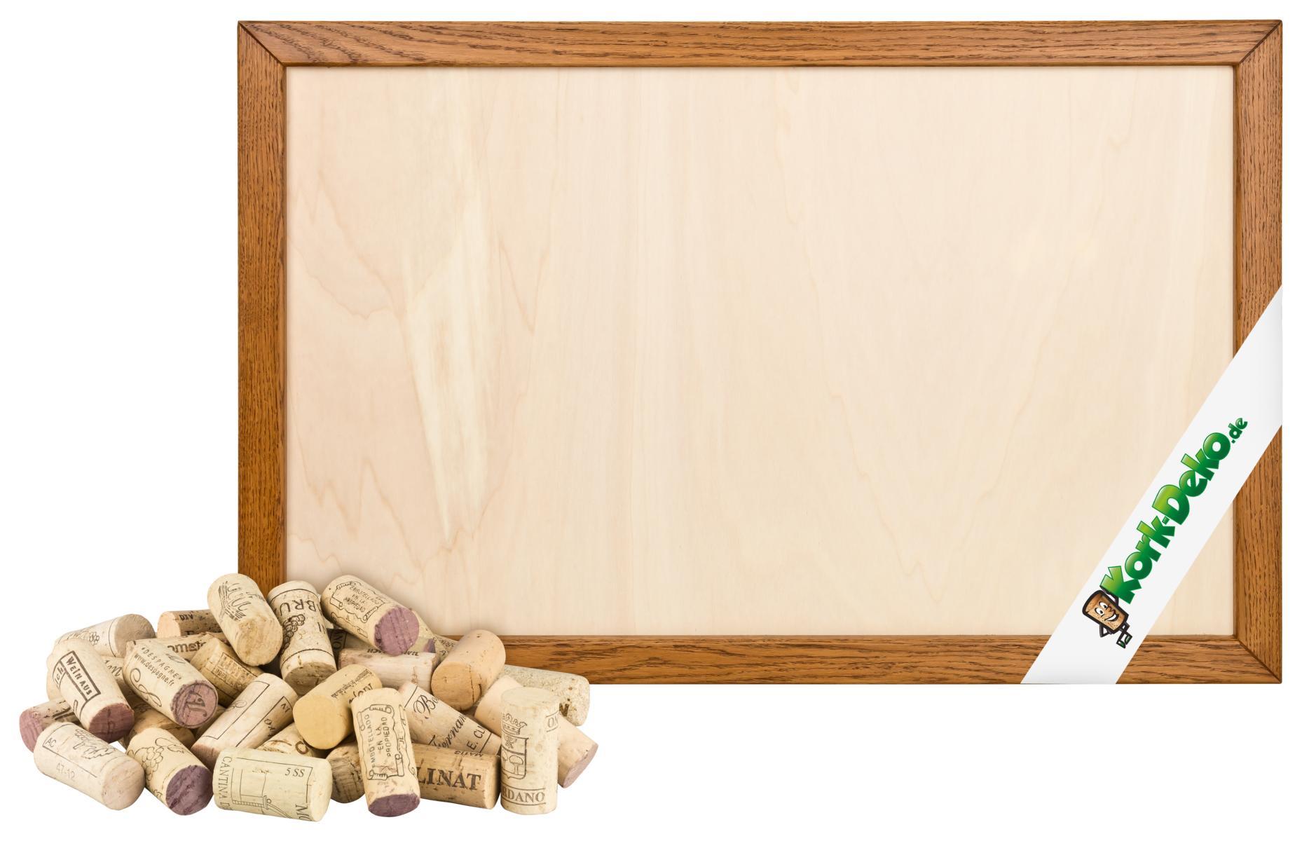 pinnwand aus korken selber bauen alte korken heller. Black Bedroom Furniture Sets. Home Design Ideas