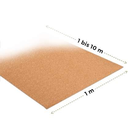 Rollenkork Meterware Kork-Trittschalldämmung - 1 m² x 4 mm stark