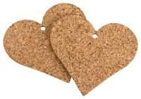 Herzen zum Basteln aus Kork kaufen