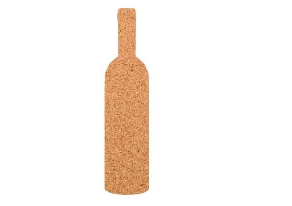 Kork-Pinnwand Weinflasche