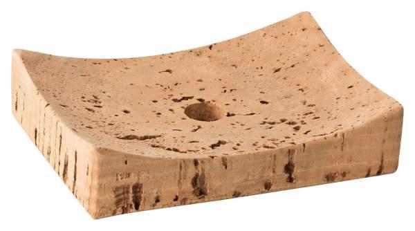 Seifenschale aus Kork 12 x 6 x 4 cm