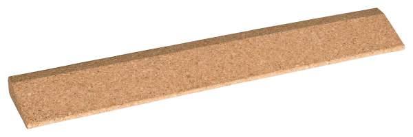 Langer Keil zum Handaufstützen für Yoga aus Kork (lange Version 60 cm) - Keil für Yoga-Übungen