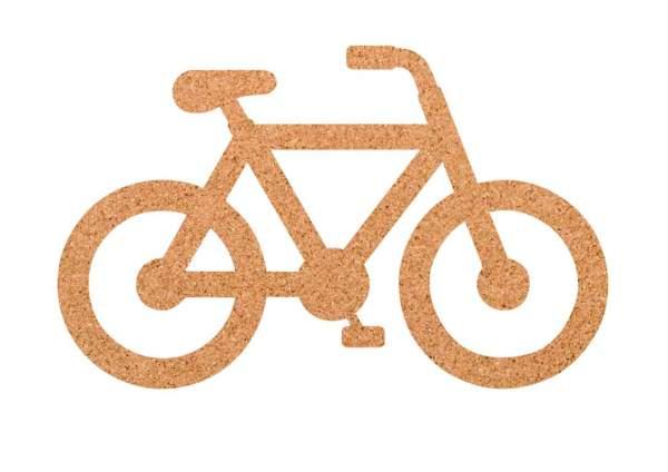 Kork-Pinnwand Fahrrad