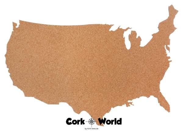 Kork-Pinnwand USA