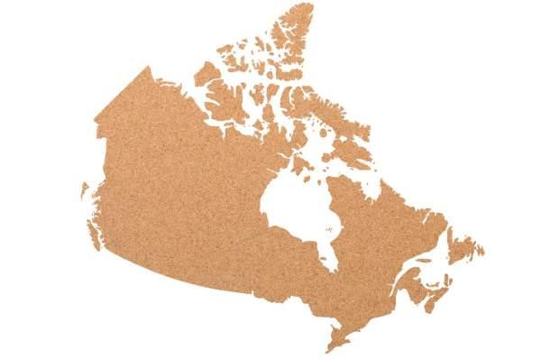 Kork-Pinnwand Kanada