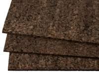 Korkplatten 90x60 cm Schwarzkork