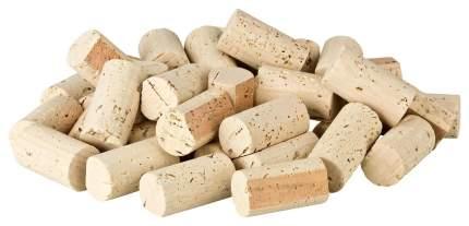 100 vor-geschnittene, neue Weinkorken zum Bau einer Pinnwand