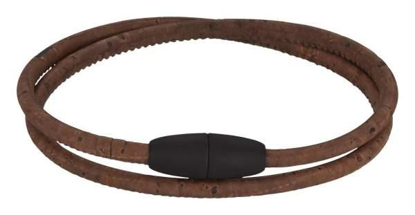 Kork-Wickel-Armband für Damen
