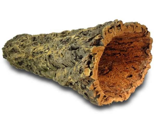 XXL dicke Röhre aus Naturkork für Nagetiere, Vögel und Terrarien kaufen