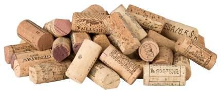 100 vor-geschnittene, gebrauchte Weinkorken zum Pinnwand-Bau