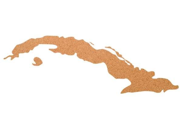 Kork-Pinnwand Kuba