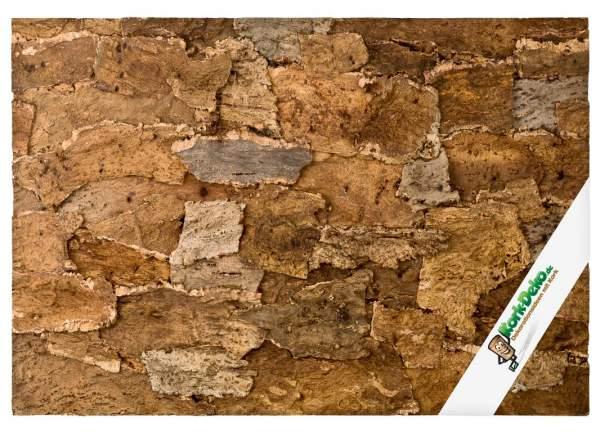"""Korkrückwand """"Desert"""" (Naturkork) Wüstenoptik für Terrarien 90x60 cm kaufen"""