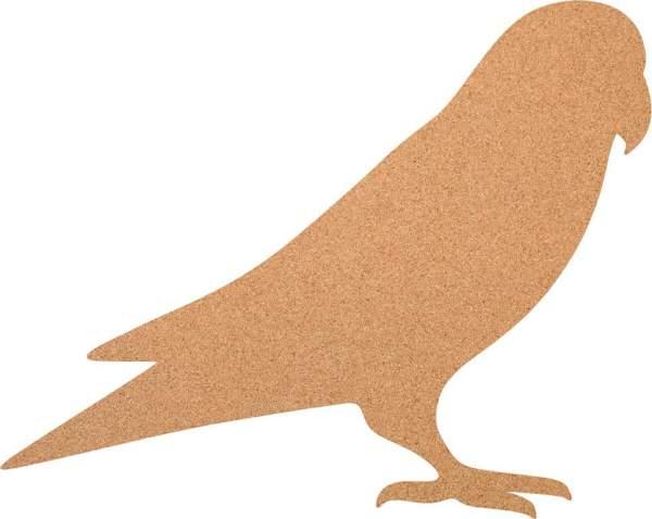 Kork-Pinnwand Vogel