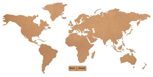 Weltkarte Korkwand