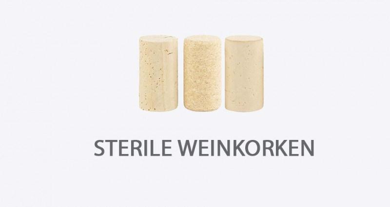 Sterile Weinkorken