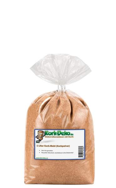 Korkmehl Kok-Mehl / Kork-Staub / Kork-Pulver, gemahlen Modellbau bestllen