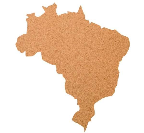Kork-Pinnwand Brasilien