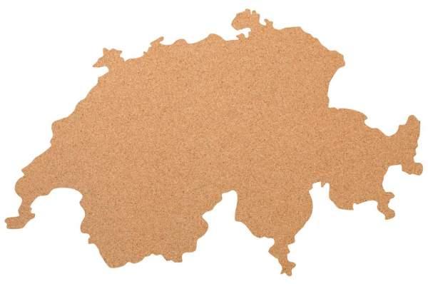 Kork-Pinnwand Schweiz