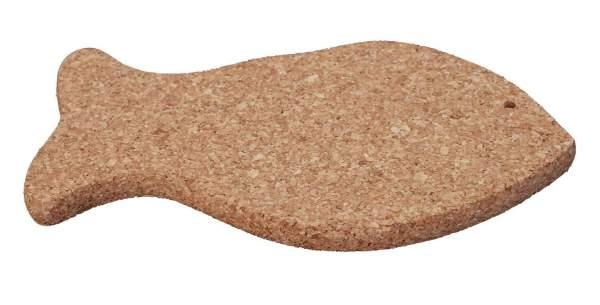 Untersetzer für (groß) Töpfe und Pfannen in der Form eines Fischs kaufen (Naturkork)