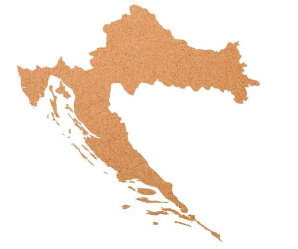Kork-Pinnwand Kroatien