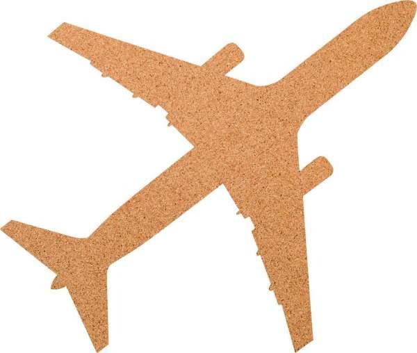Kork-Pinnwand Flugzeug