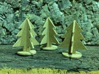 Kork Weihnachtsbaum zum Zusammenstecken kaufen