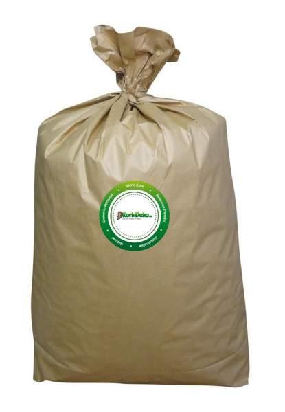 100 Liter Korkgranulat aus recycelten Korken als Infill für Kunstrasen