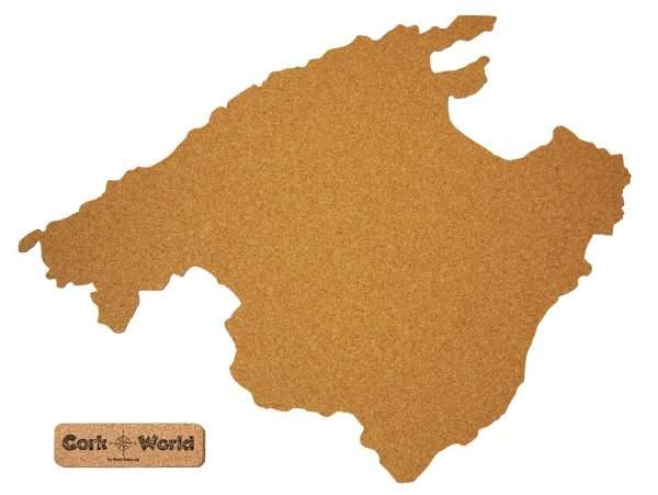 Mallorca Karte Umriss.Corkworld Mallorca Als Pinnwand Aus Kork Xxl 90x65 Cm