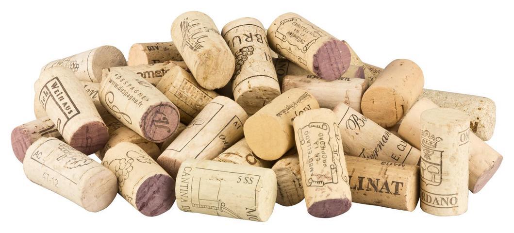gebrauchte Weinkorken zum_Basteln