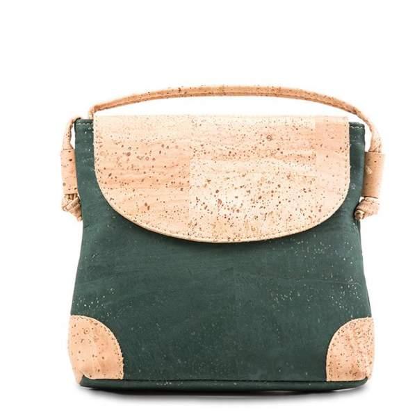 Grüne Korkledertasche (Tasche aus Korkstoff) kaufen